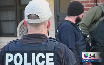 Cerca de 200 personas han sido arrestadas en Georgia y las Carolinas por...
