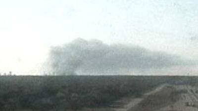 Explosion en planta de Seabrook, TX. Al momento no se han reportado heri...
