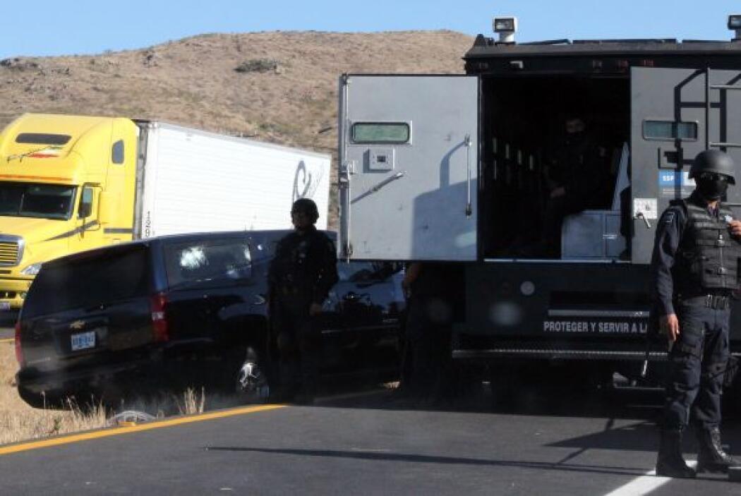 Los agentes del ICE se dirigían de la Ciudad de México a Monterrey (nort...