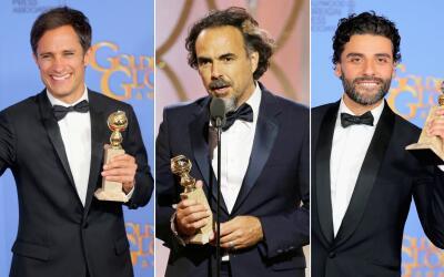 ¡Un aplaudido triunfo latino en los Globos de Oro 2016!