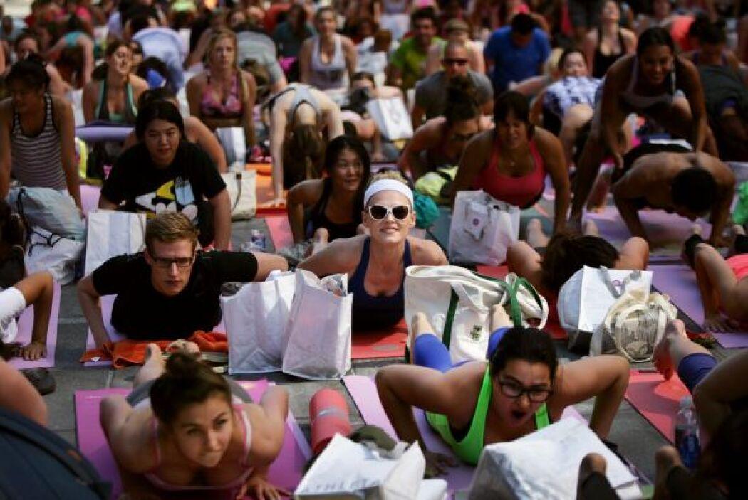 La convocatoria logró reunir a miles.