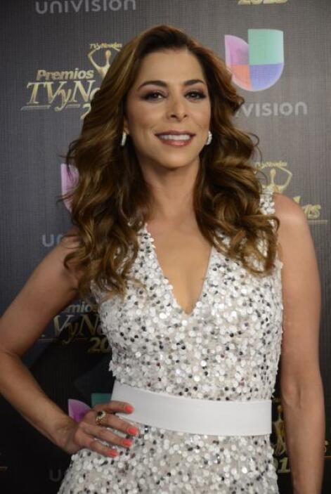 Lourdes Stephen fue de las más guapas de los Premios TVyNovelas.