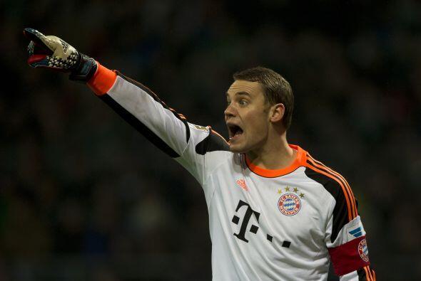 Neuer jugó más que ningún otro jugador del Bayern Munich en la temporada...