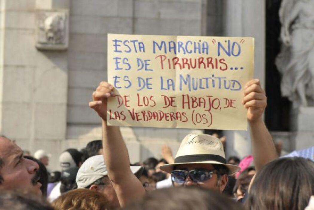 Los mexicanos exigen seguridad en todos los estado del país.