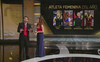 Nominados Premios Univision Deportes: Atleta Femenina del Año