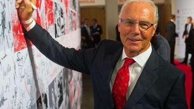 Franz Beckenbauer dijo haber hablado con los extraterrestres.