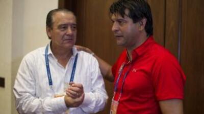 José Saturnino Cardozo coincidió con José Luis Trejo, quienes coomo técn...