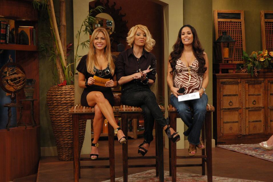 Claudia Molina, Ivy Queen y Karla Martínez en el 2008