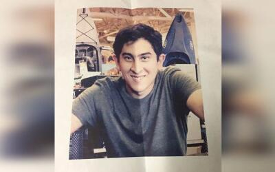Kyle Sunda, joven desaparecido en Alhambra el 10/19/2016.