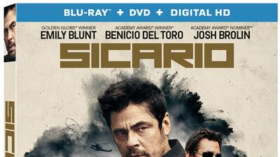 Sicario Bluray, DVD y Digital HD