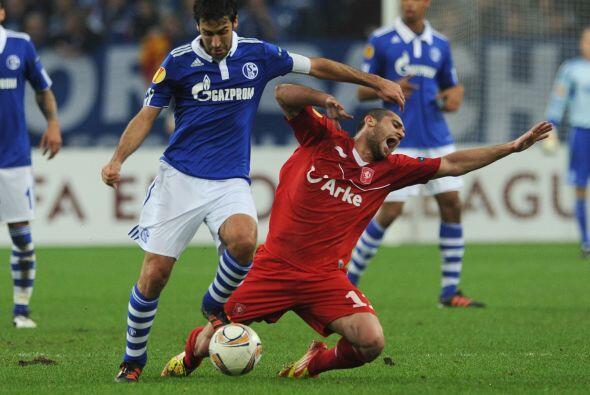 Vaya partido que tuvieron los jugadores del Schalke 04.
