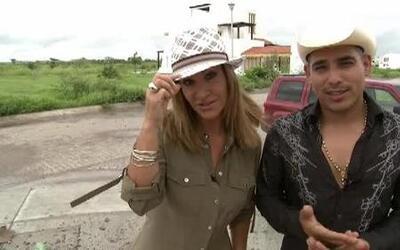 Espinoza Paz mostró su casa en construcción