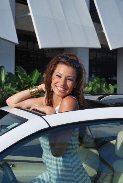 Este modelo es ideal para disfrutar en Miami, donde Nastassja reside.