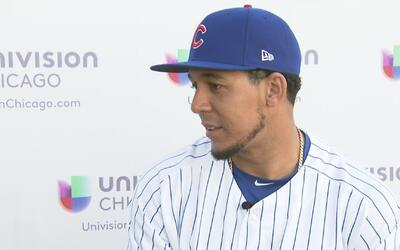 """Jon Jay de Chicago Cubs: """"Voy a venir todos los días a trabajar duro"""""""