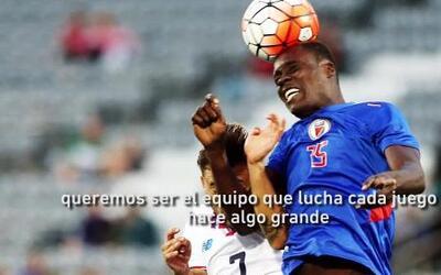"""Mustivar: """"El mejor momento es cuando jugamos contra Grenada y clasifica..."""