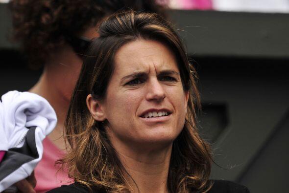 La ex tenista Amelie Mauresmo es la nueva entrenadora de Bartoli.