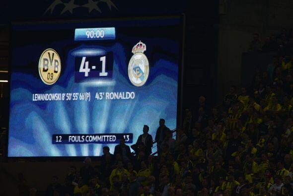 Un marcador que sorprendía al mundo de la Champions League por se...