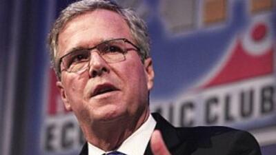 El ex gobernador del estado de Florida (sureste de Estados Unidos), Jeb...