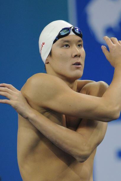 El surcoreano Park Tae-Hwan, campeón de los 400 libre, no pudo colarse a...