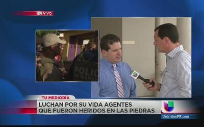 Luchan por su vida agentes heridos durante intervención en Las Piedras