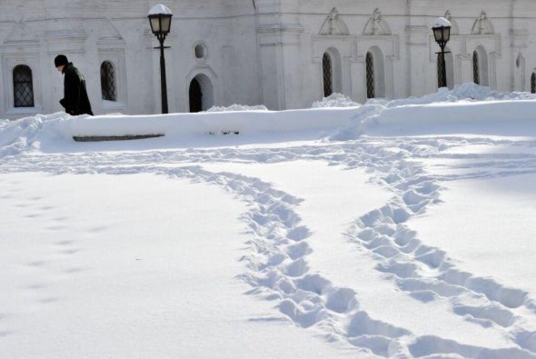 Además, se han registrado niveles de nieve de 53 centímetros.