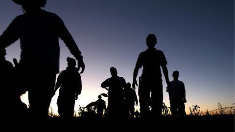 Campesinos inmigrantes.