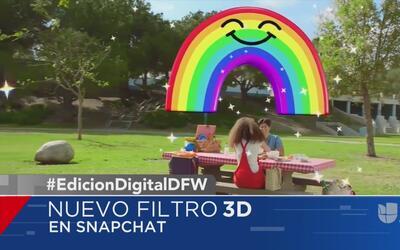 El nuevo filtro 3D en Snapchat y otras tendencias en la red