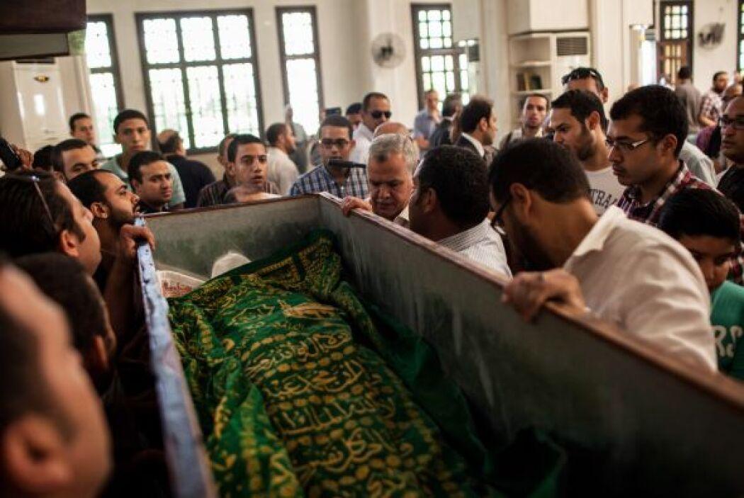 El fallecido participaba el viernes en las manifestaciones en los alrede...