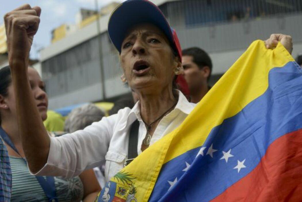 Las protestas en Venezuela están en las portadas de los principales peri...