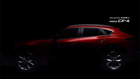 Teaser Mazda CX-4