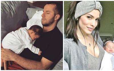 La nena de la exreina de belleza y el jugador de la NBA nació el 31 de m...