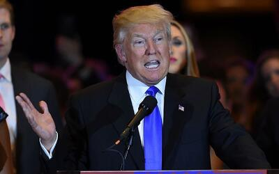 """Donald Trump: """"Ted Cruz es un gran contrincante"""""""