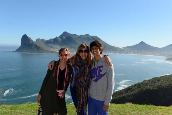 Este viaje fue una gran sorpresa para los jóvenes Lina y Lorenzo.