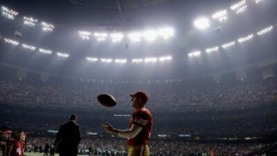 El Superdome se quedó sin luz en el tercer cuarto del Super Bowl XLVII.