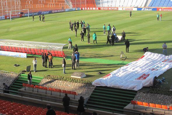 La jornada previa al encuentro con Perú por el Grupo C de la Copa Améric...