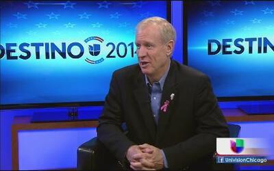 Rauner quiere cambiar la maquinaria política de Illinois