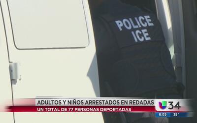 Redadas en Georgia dejan un total de 77 deportados