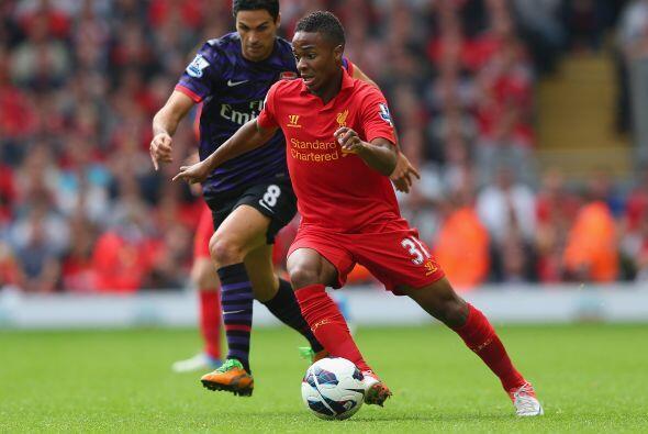 El otro partido importante de la jornada era la visita del Arsenal al Li...