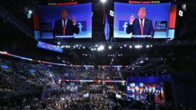 Debate presidencial republicano en Cleveland, Ohio.