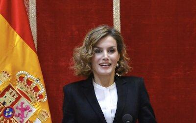 Doña Letizia brilló en Madrid durante la entrega de los premios Foro Jus...