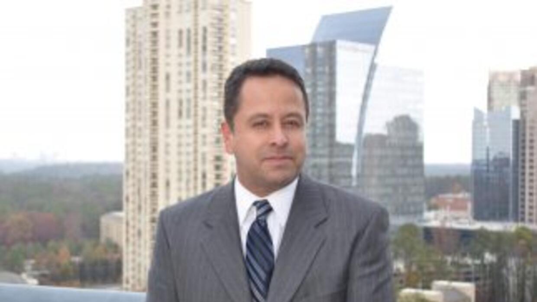 En en honor al primer aniversario de Noticias 34 Atlanta, el reportero O...