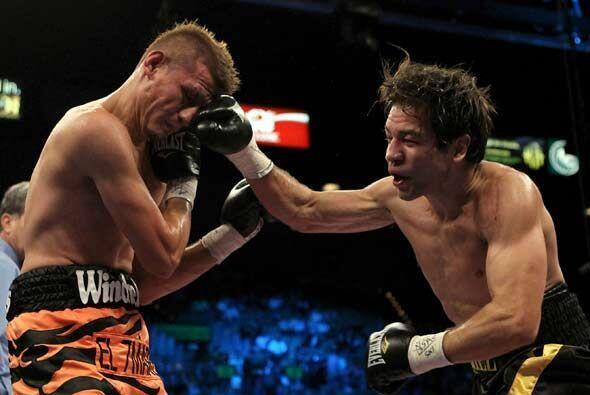 Y en una plea entre mexicanos, Alfonso Gómez ganó por punt...