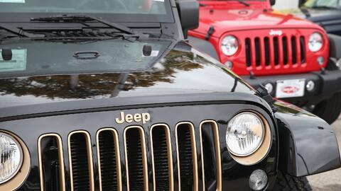 Jeep reportó su segunda caida mensual en la venta de sus veh&iacu...