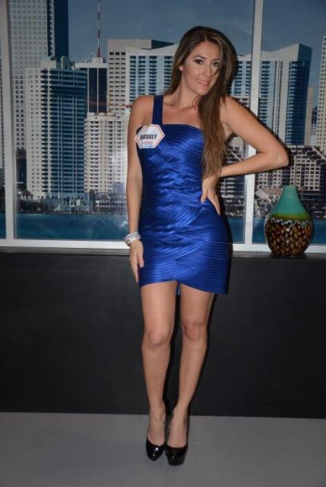 Rosely, la participante ganadora, no podía ocultar su satisfacción de ha...