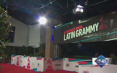 ¡Todo listo para los Latin Grammy!