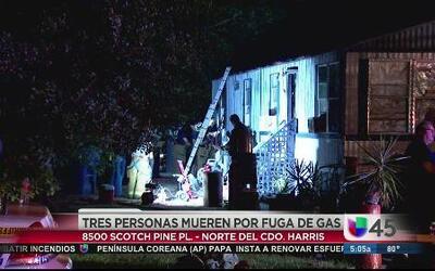 Tres muertos por inhalación de gas