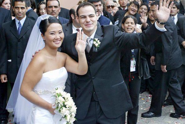 El estadounidense Mark Vito Villanella se casó con la candidata p...