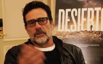 El actor Jeffrey Dean Morgan habla sobre su papel de villano anti-inmigr...