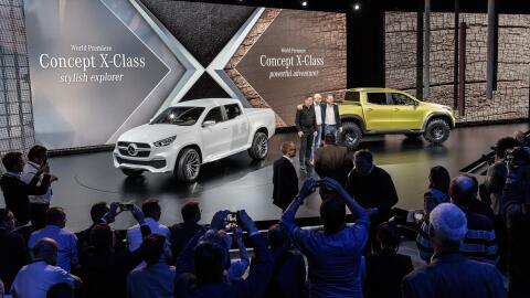 Mercedes-Benz desembarcó en el mundo de las pick-ups con la llegada de l...