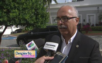 El secretario de Hacienda de Puerto Rico habla sobre el presupuesto que...